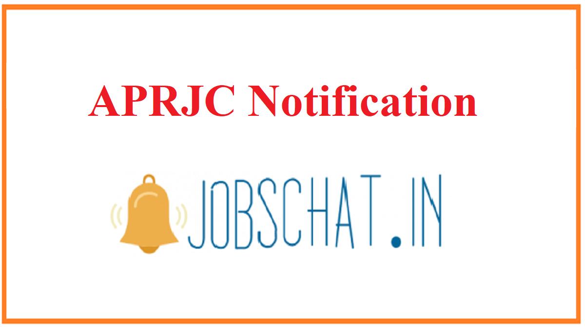 APRJC Notification