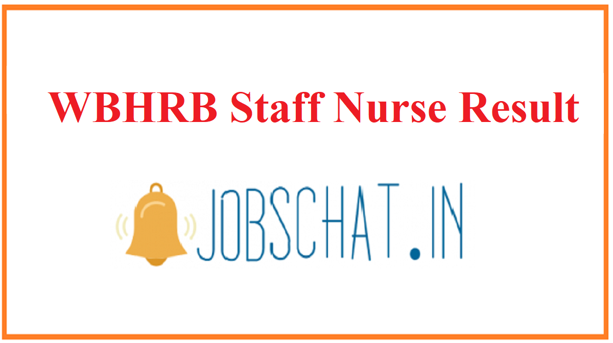 WBHRB Staff Nurse Result