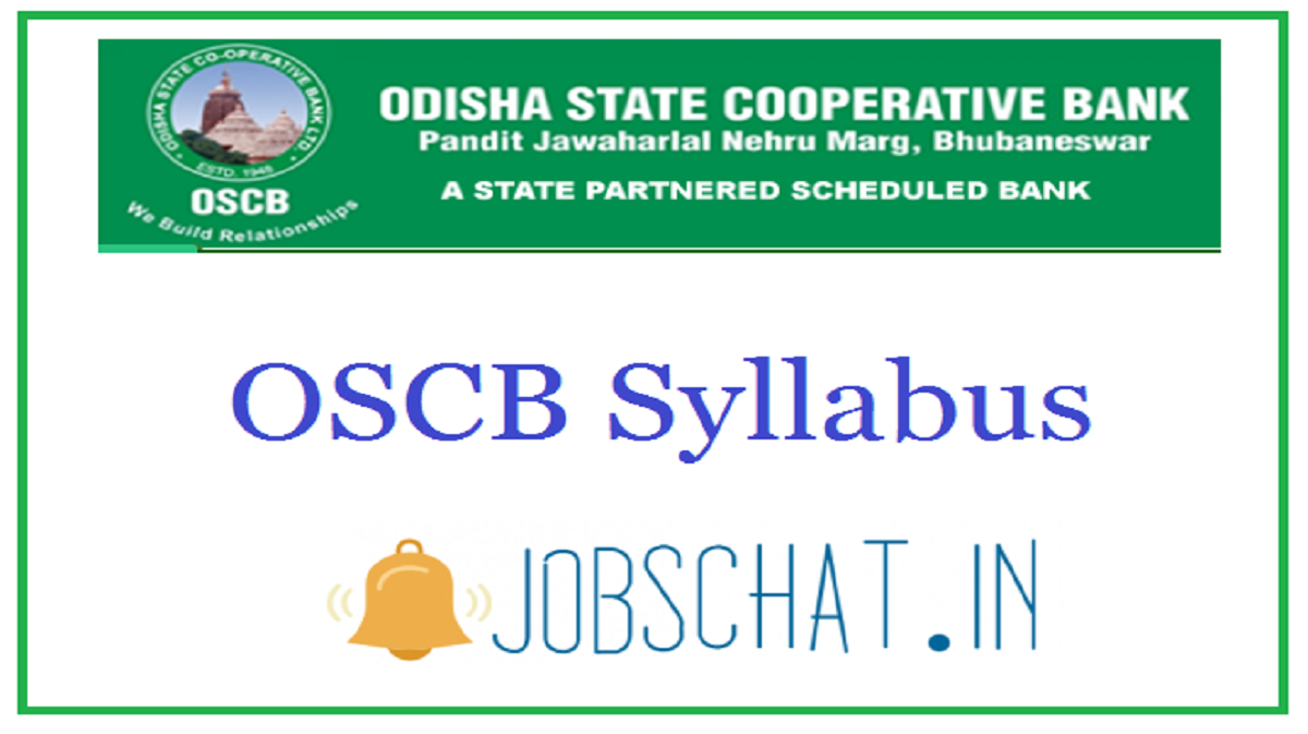 OSCB Syllabus