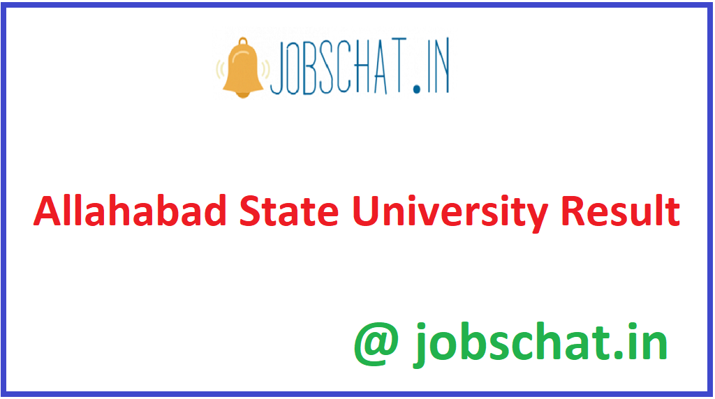 Allahabad State University Result
