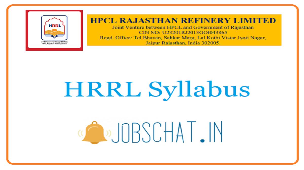 HRRL Syllabus