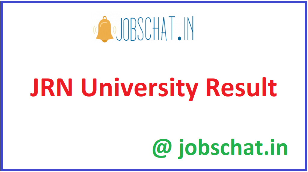 JRN University Result