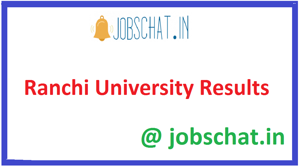 Ranchi University Results