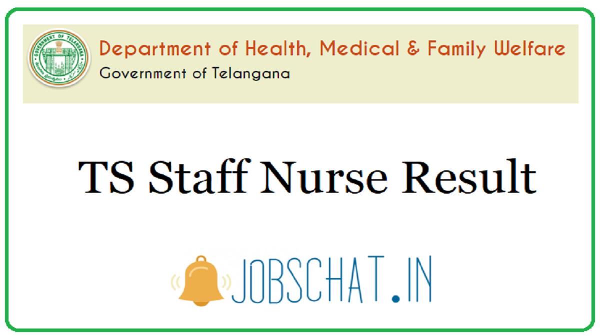 TS Staff Nurse Result