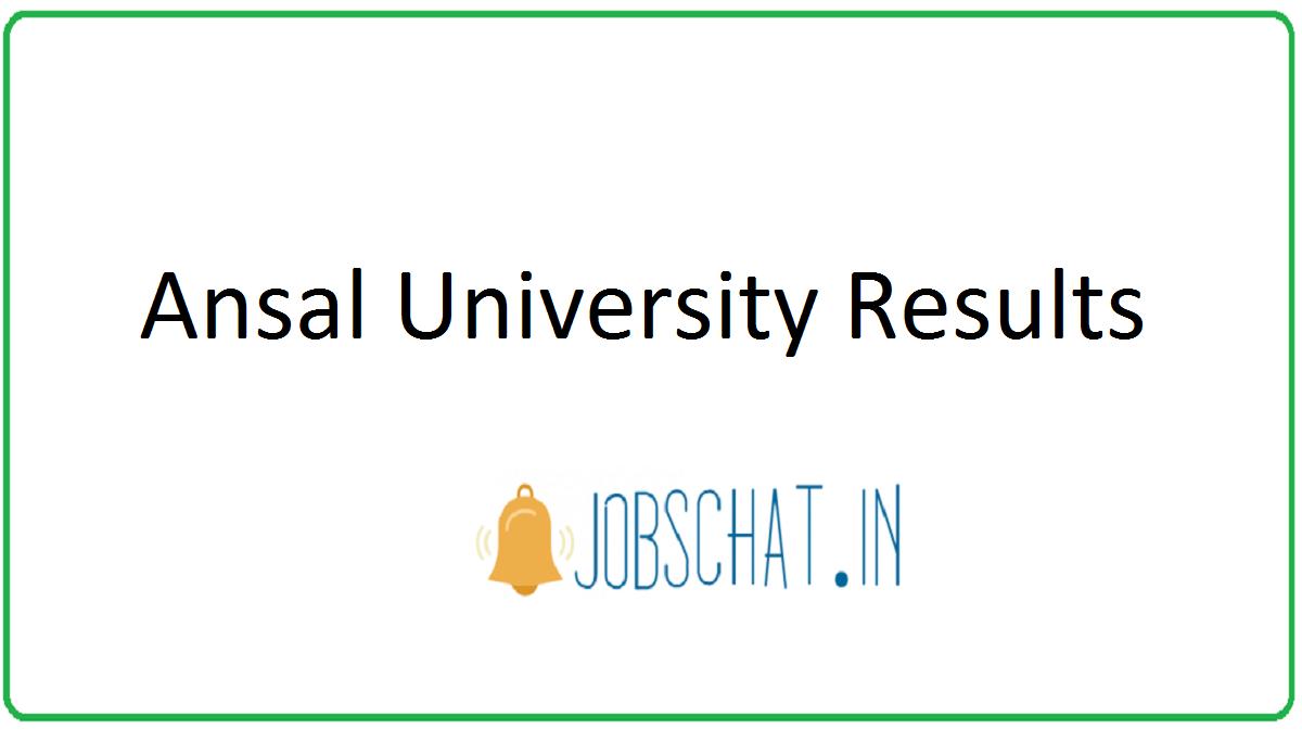 Ansal University Results
