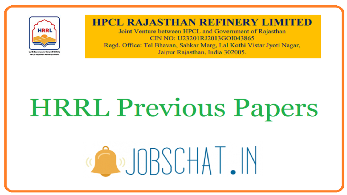 HRRL Previous Papers