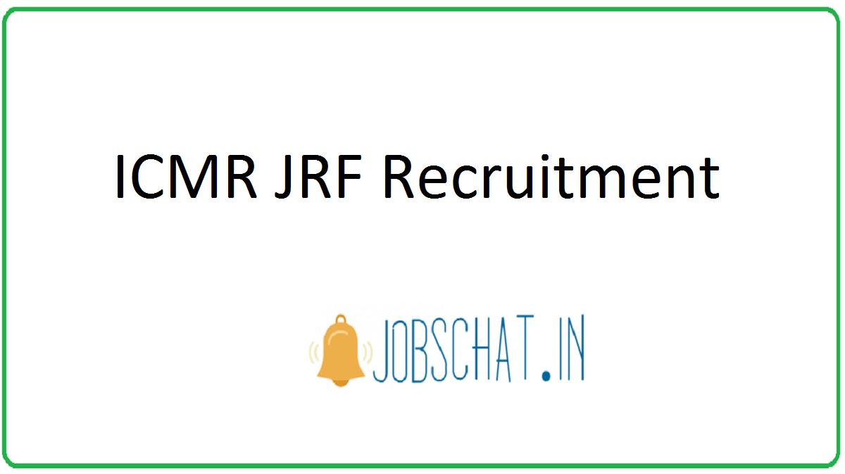 ICMR JRF Recruitment