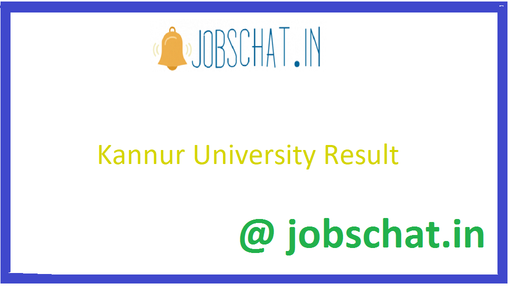 Kannur University Result