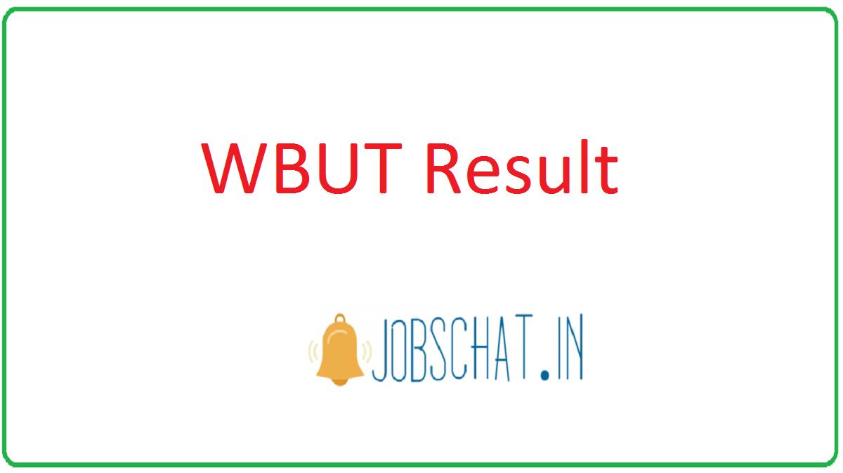 WBUT Result