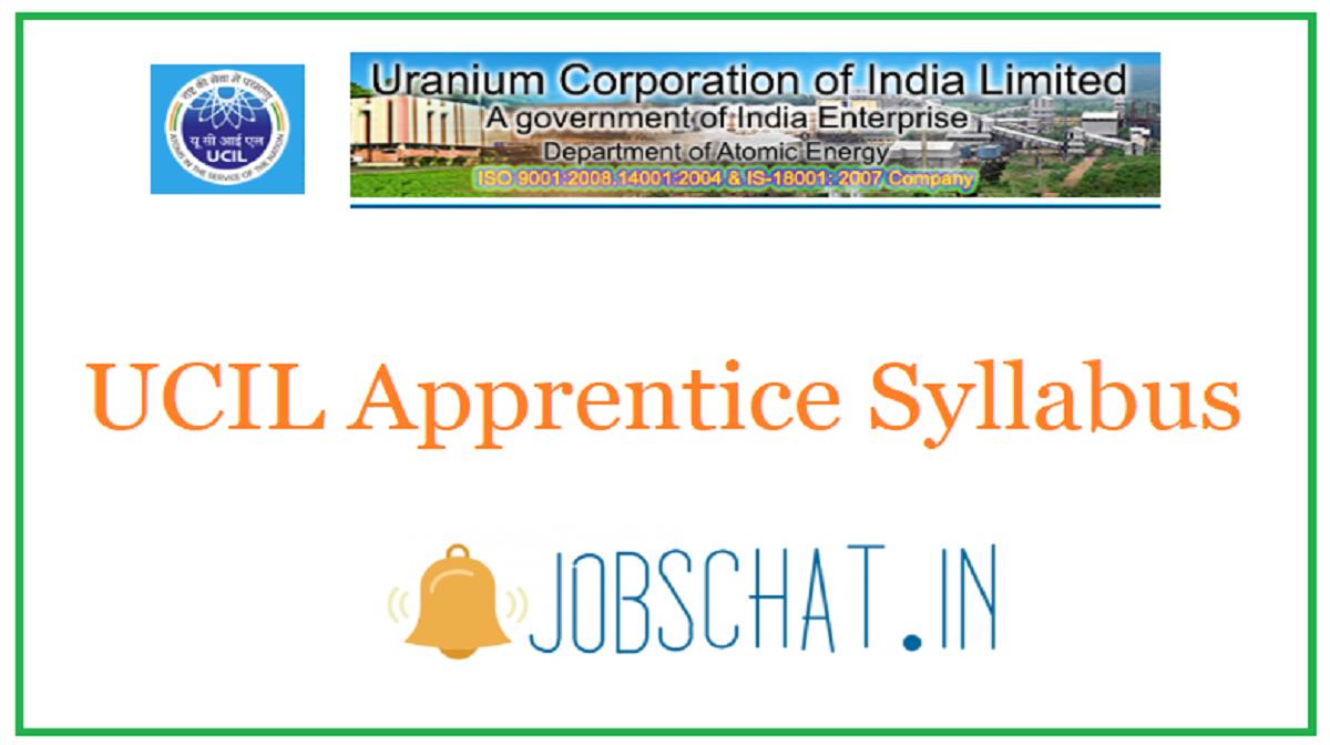 UCIL Apprentice Syllabus
