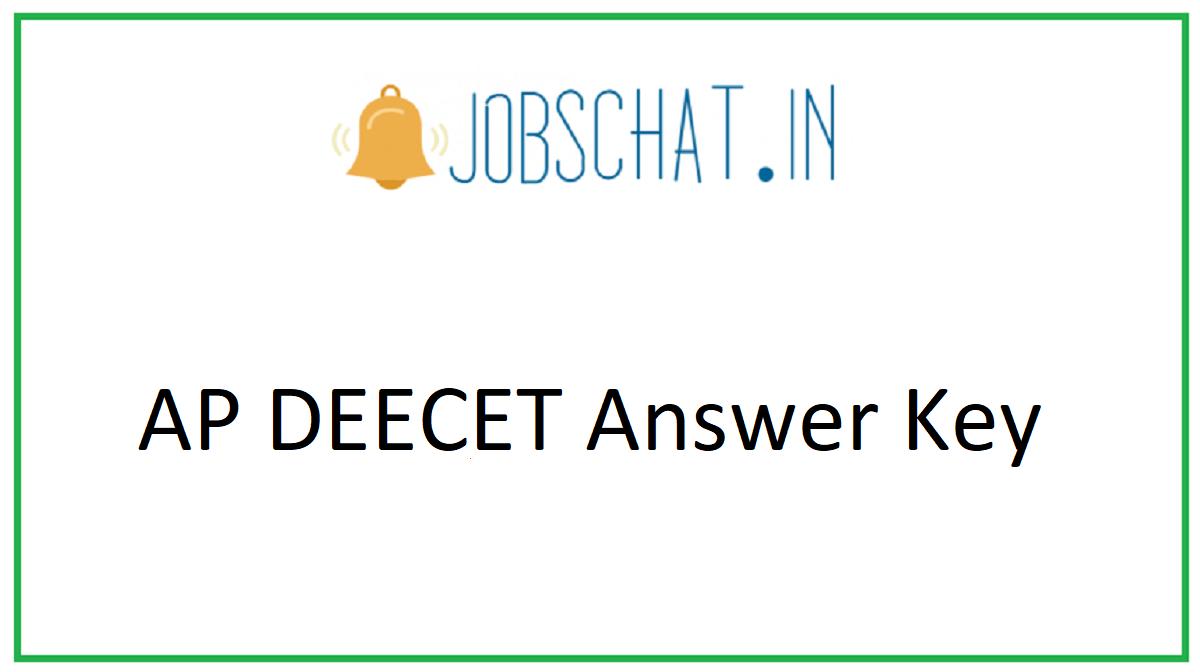 AP DEECET Answer Key