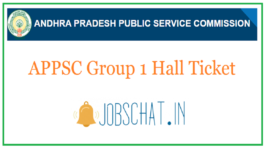 APPSC Group 1 Hall Ticket