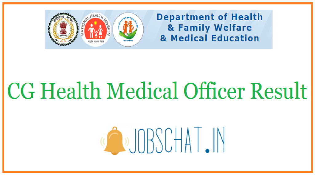 CG Health Medical Officer Result