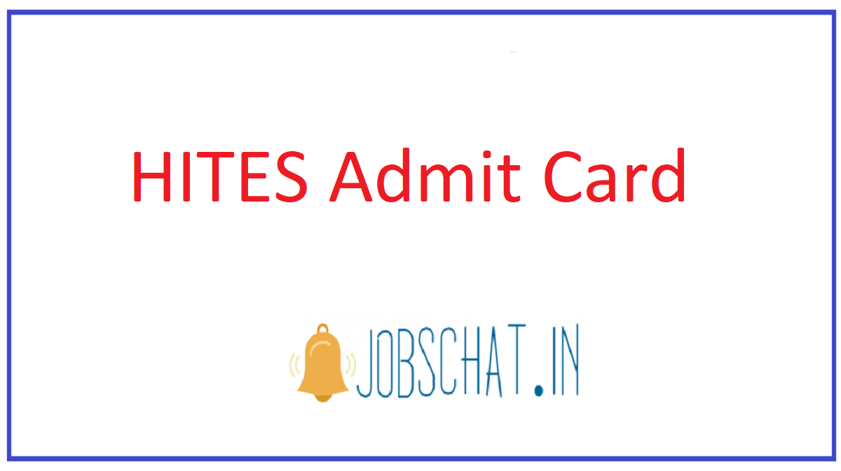 HITES Admit Card