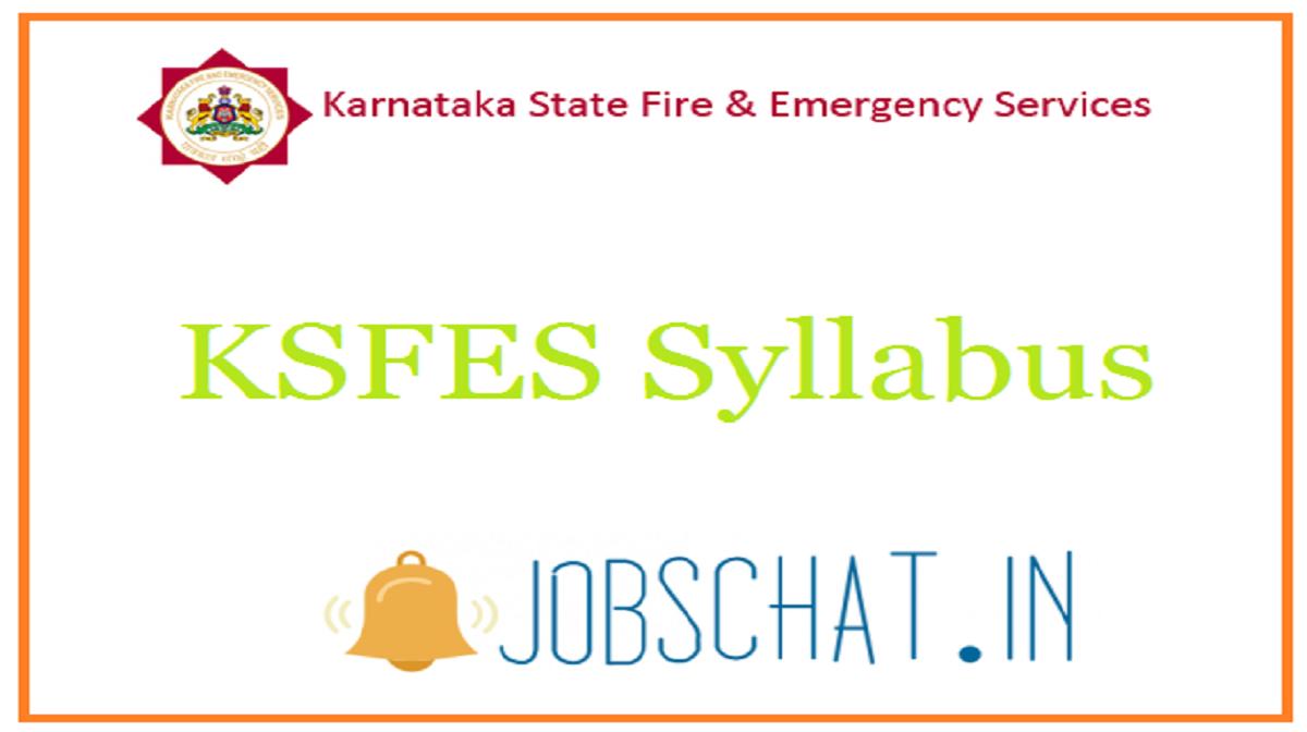 KSFES Syllabus