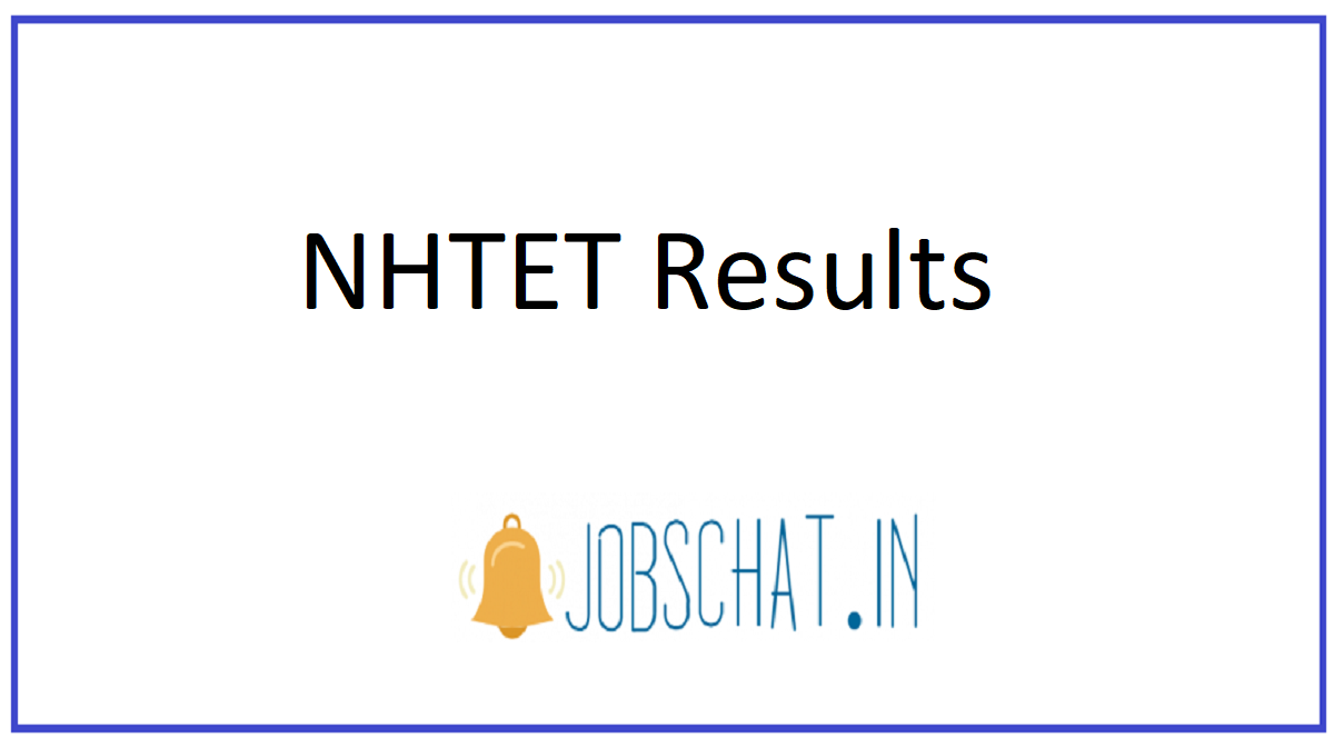 NHTET Results