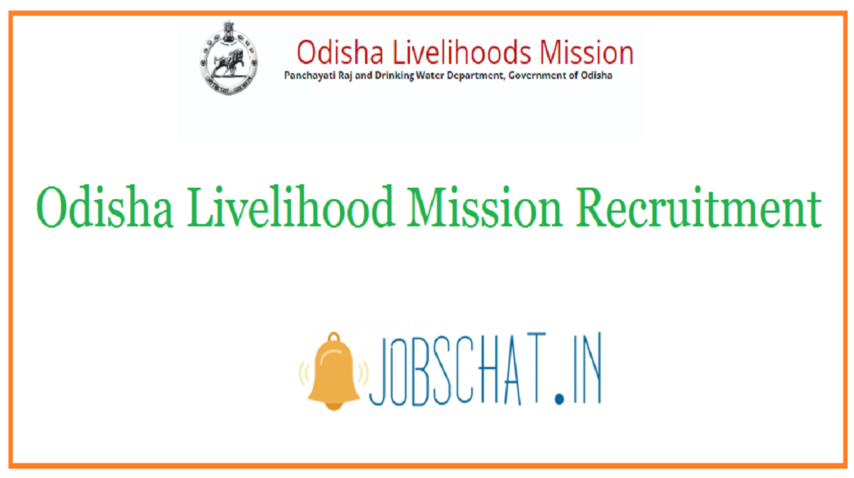 Odisha Livelihood Mission Recruitment