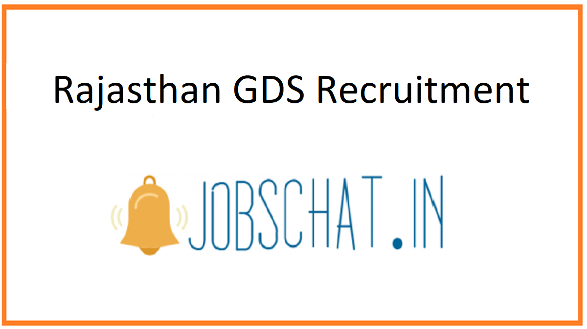 Rajasthan GDS Recruitment