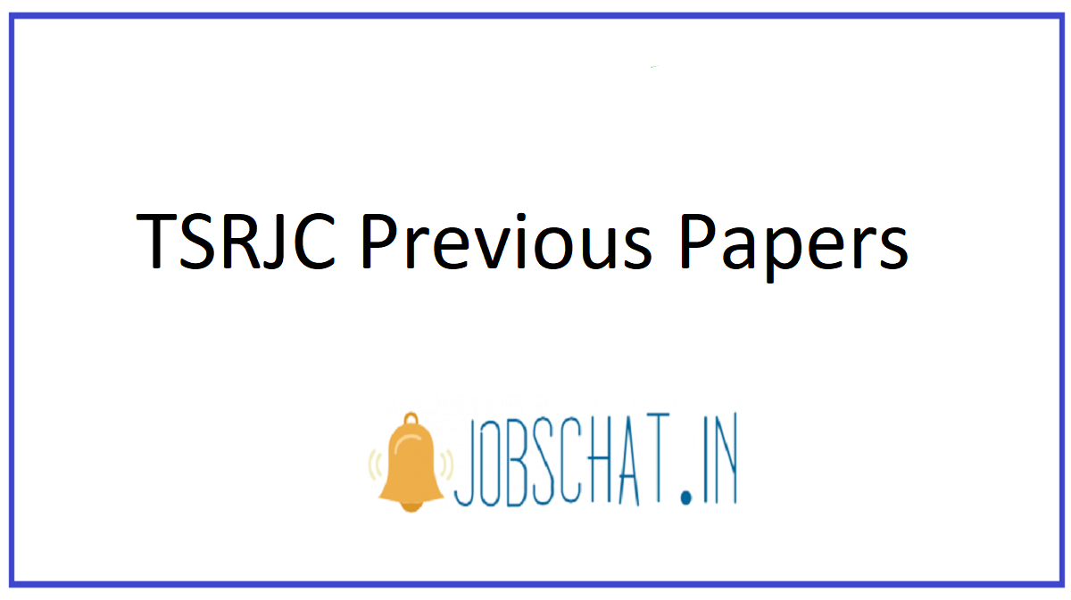 TSRJC Previous Papers
