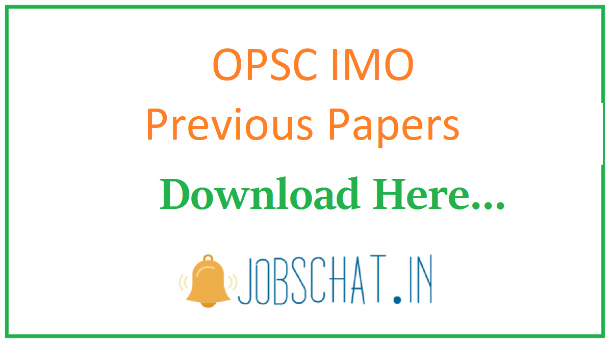 OPSC IMO Previous Papers