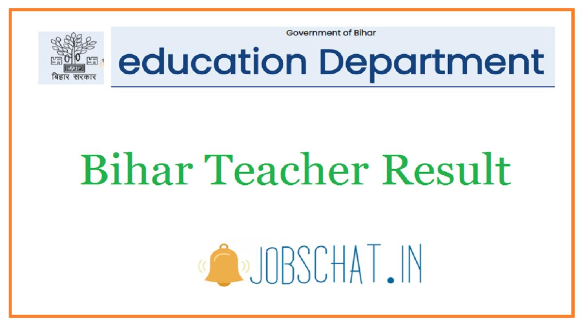 Bihar Teacher Result