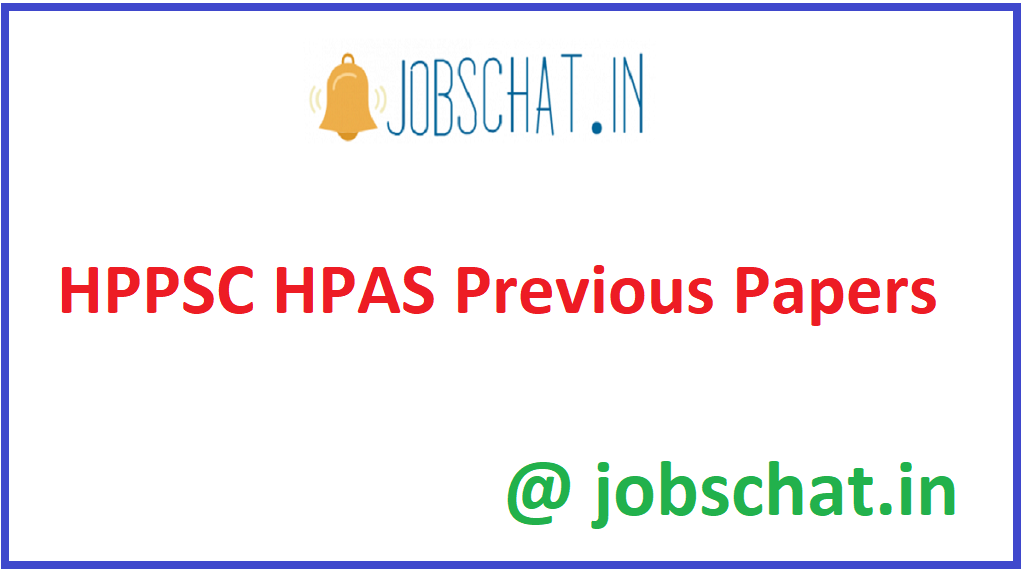 HPPSC HPAS Previous Papers