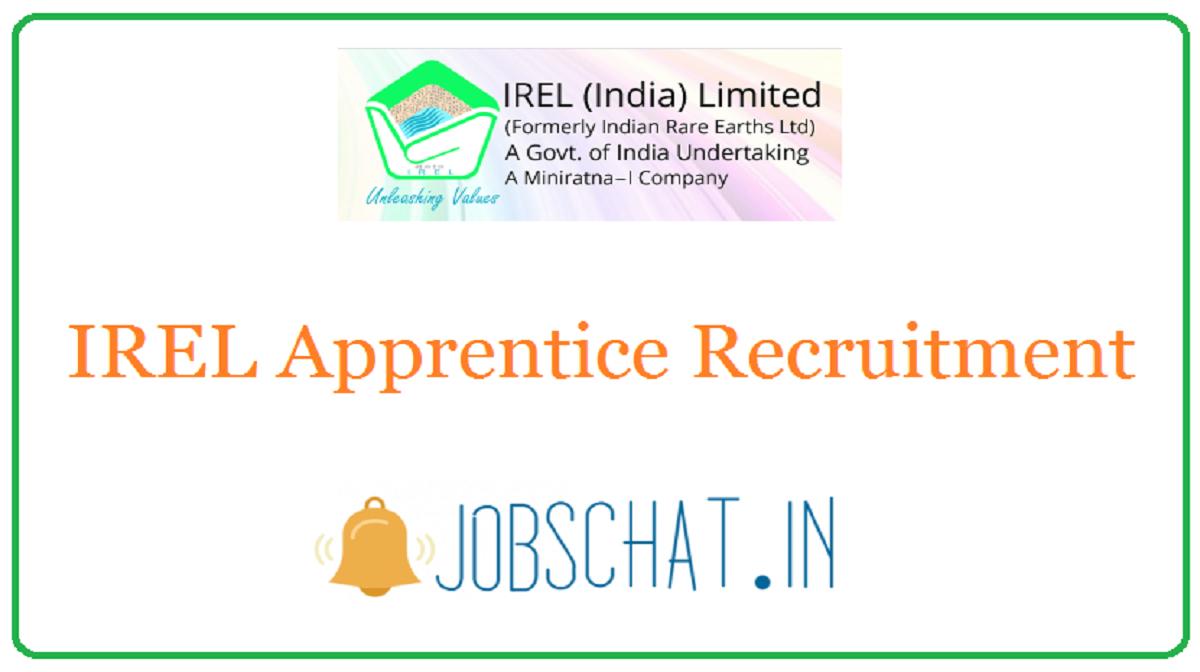 IREL Apprentice Recruitment
