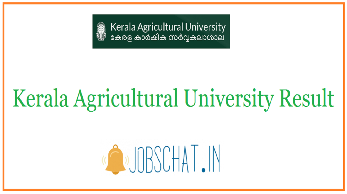 Kerala Agricultural University Result
