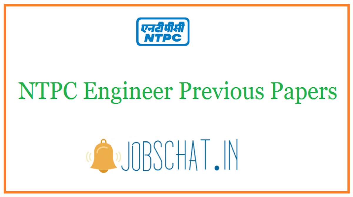 NTPC Engineer Previous Papers