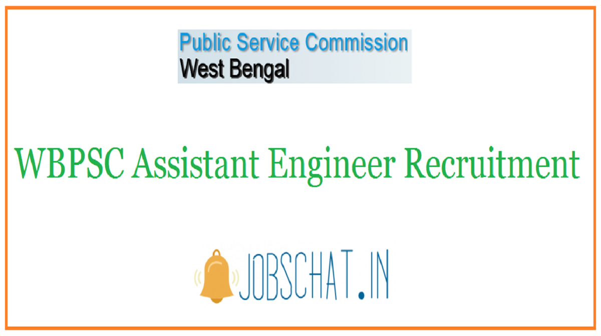 WBPSC Assistant Engineer Recruitment