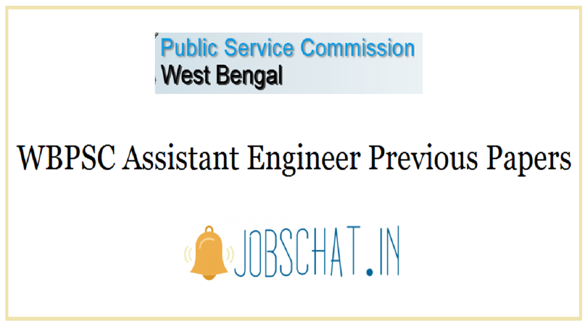 WBPSC Assistant Engineer Previous Papers