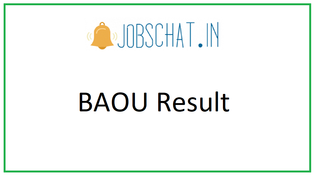 BAOU Result