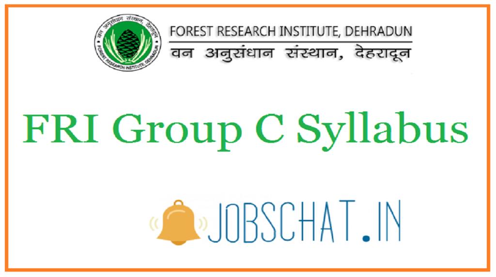 FRI Group C Syllabus
