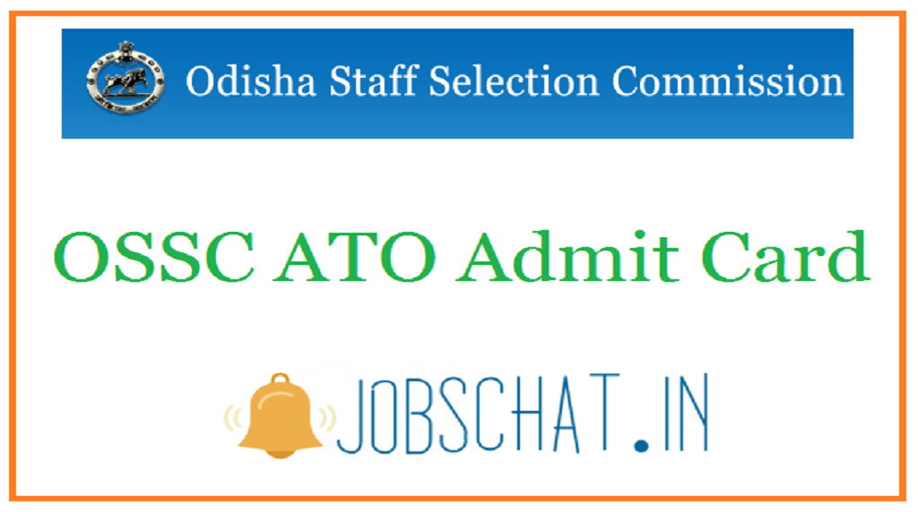 OSSC ATO Admit Card