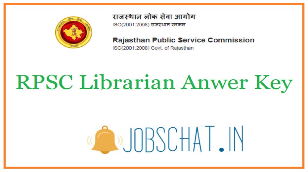 RPSC Librarian Answer Key