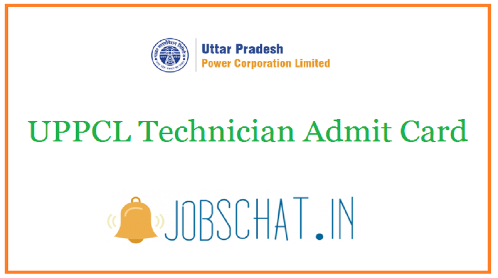 UPPCL Technician Admit Card