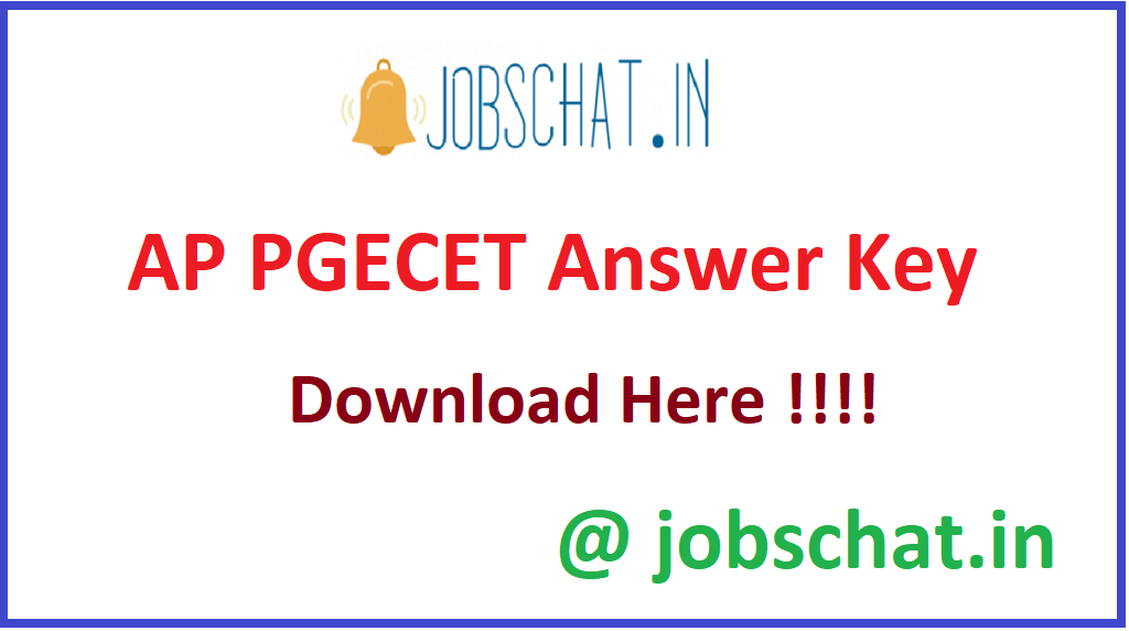 AP PGECET Answer Key