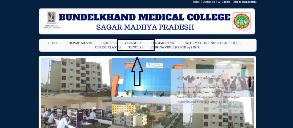 BMC Sagar Staff Nurse Recruitment