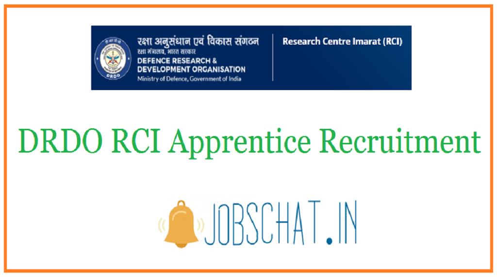DRDO RCI Apprentice Recruitment