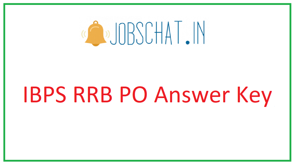 IBPS RRB PO Answer Key