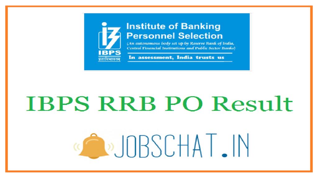 IBPS RRB PO Result