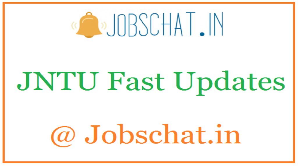 JNTU Fast Updates