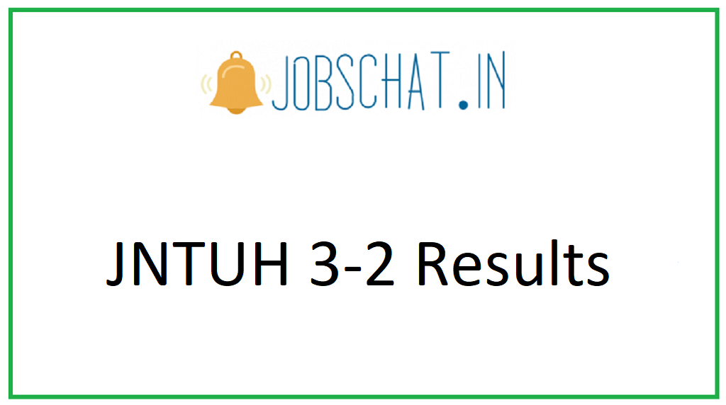 JNTUH 3-2 Results