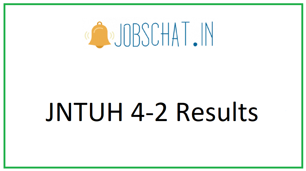 JNTUH 4-2 Results