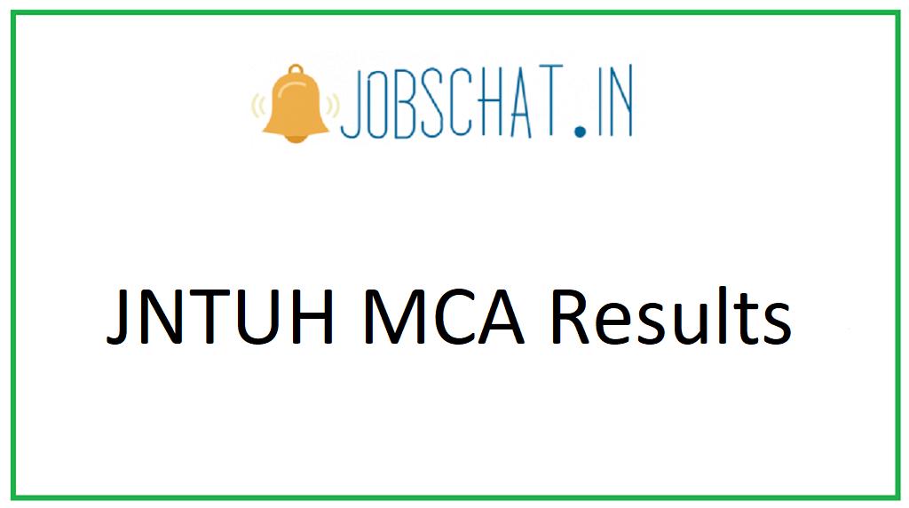JNTUH MCA Results 2020
