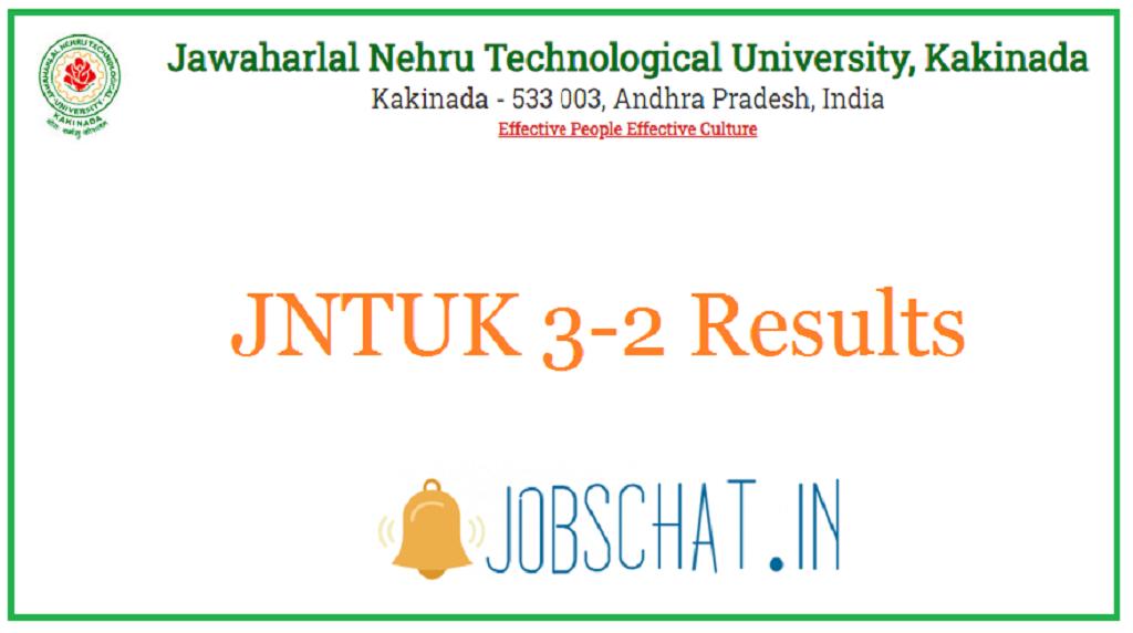 JNTUK 3-2 Results