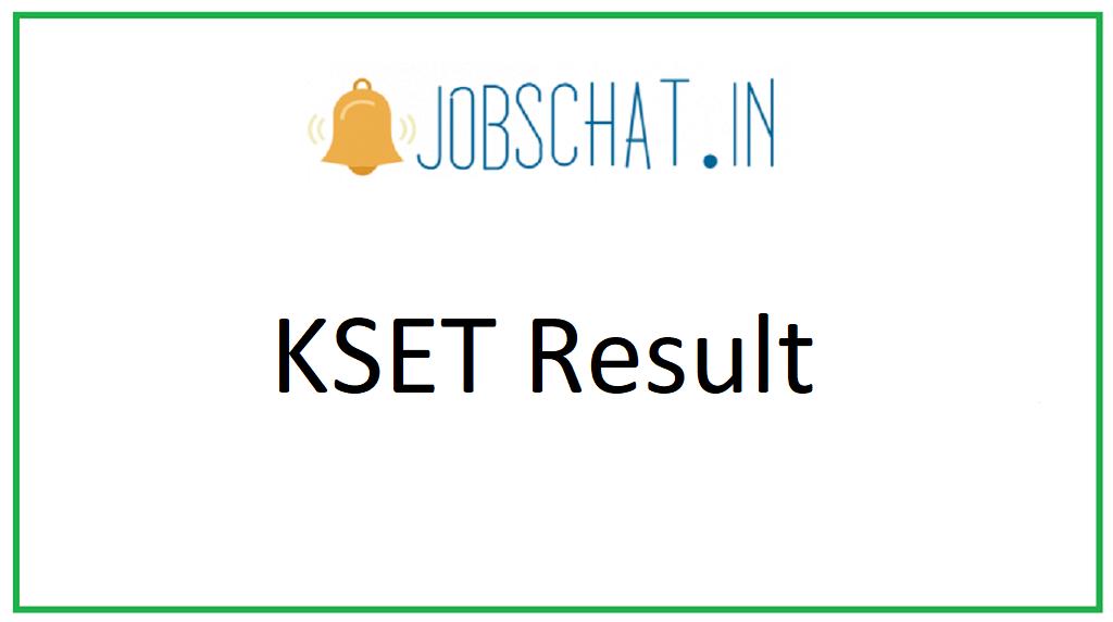 KSET Result