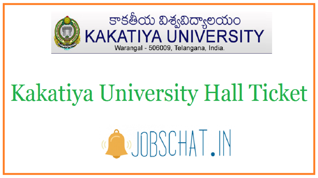 Kakatiya University Hall Ticket