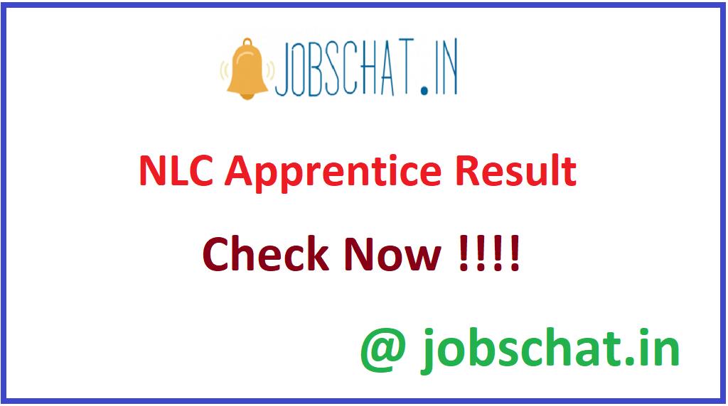 NLC Apprentice Result