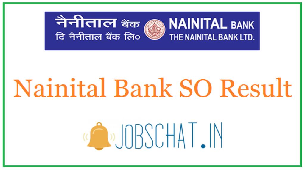 Nainital Bank SO Result